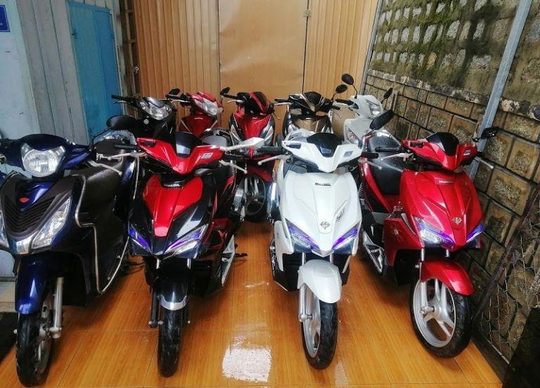 Thuê xe máy Đắk Nông khách sạn Thông Xanh