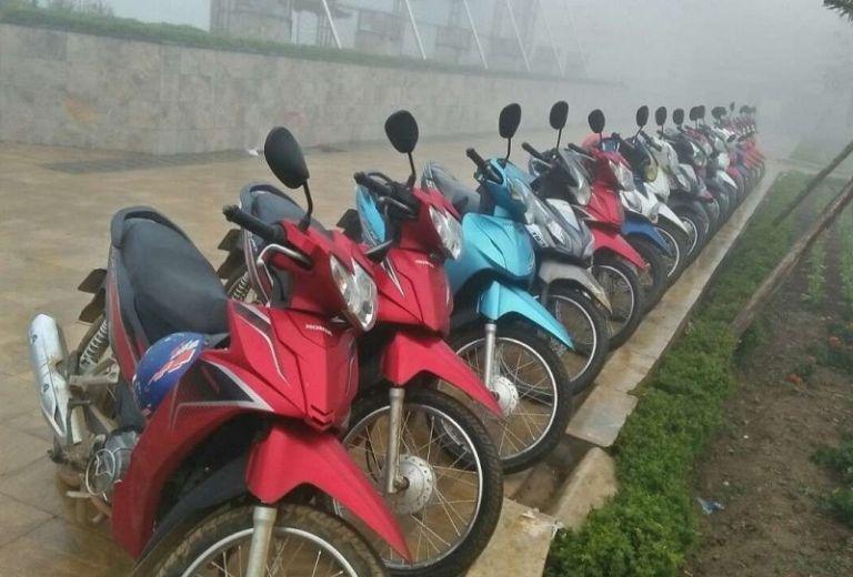 Địa điểm thuê xe máy ở Điện Biên chất lượng