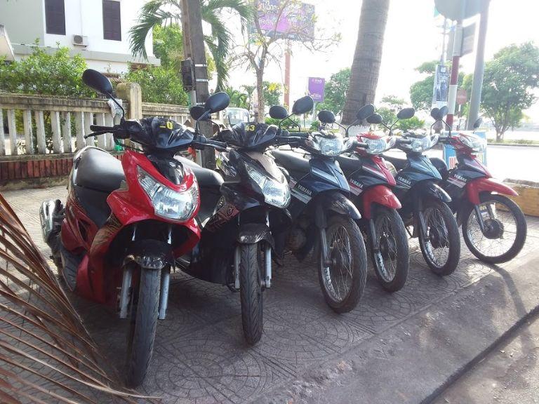 Thuê xe máy Quảng Bình