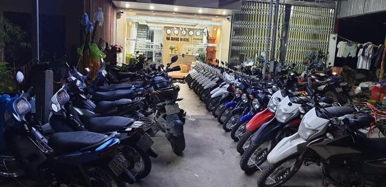 Cơ sở cho thuê xe máy Mèo Vạc chất lượng