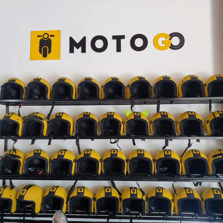 Vật phẩm đi kèm thông thể thiếu của khách hàng khi thuê xe máy tại Motogo