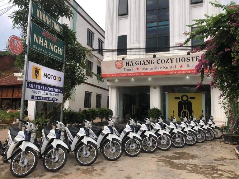 Các địa chỉ cho thuê xe máy Mèo Vạc Hà Giang với dịch vụ cực tốt