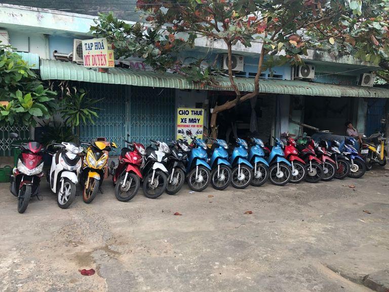 Cửa hàng xe máy