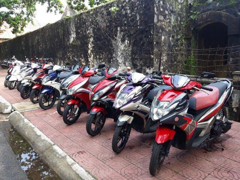 Thuê xe máy sân bay Côn Đảo