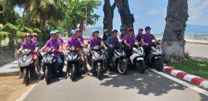 Thuê xe máy ở sân bay Côn Đảo