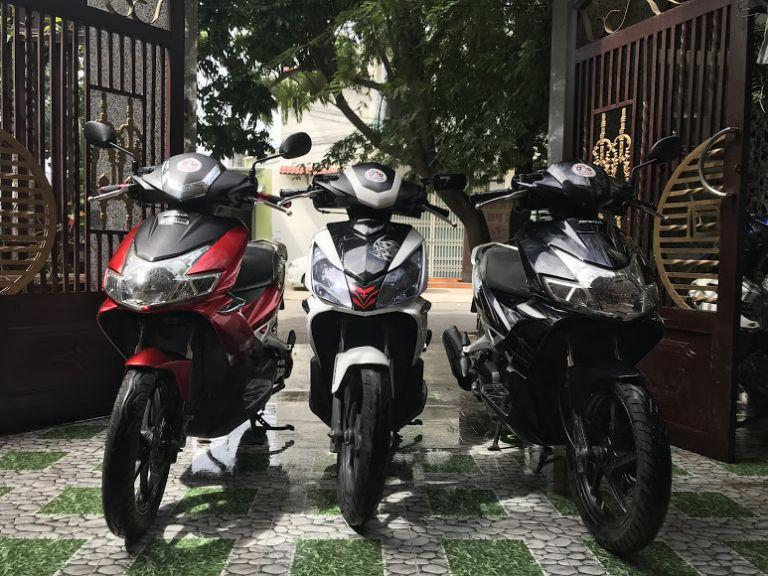 Thuê xe máy với chất lượng đảm bảo