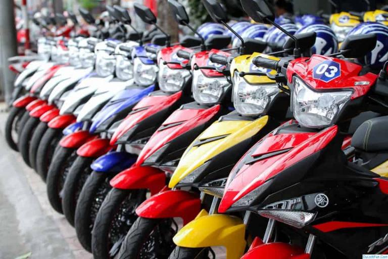 Lê Trần cho thuê xe máy
