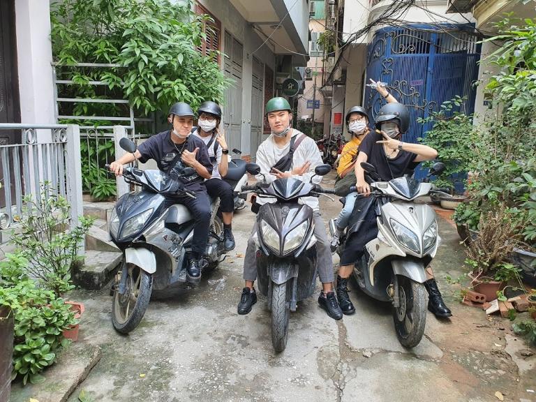Khách hàng rất hài lòng với dịch vụ cho thuê xe máy Quảng Bình tại Phú Cường