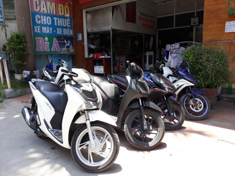 Những chiếc xe máy chất lượng tại Thu Phương