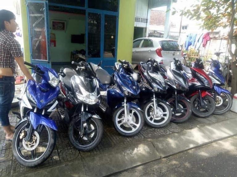Hòa Hão là cửa hàng cho thuê xe máy Quảng Trị uy tín