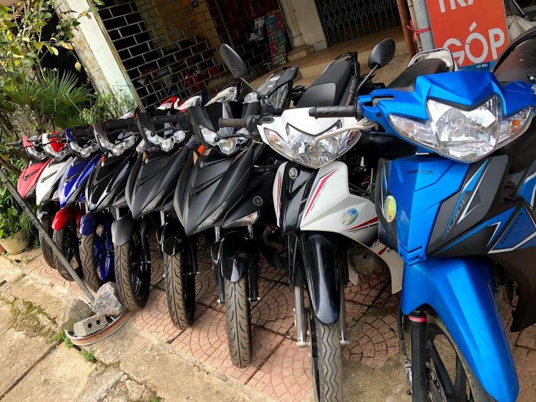 thuê xe máy sân bay Chu Lai