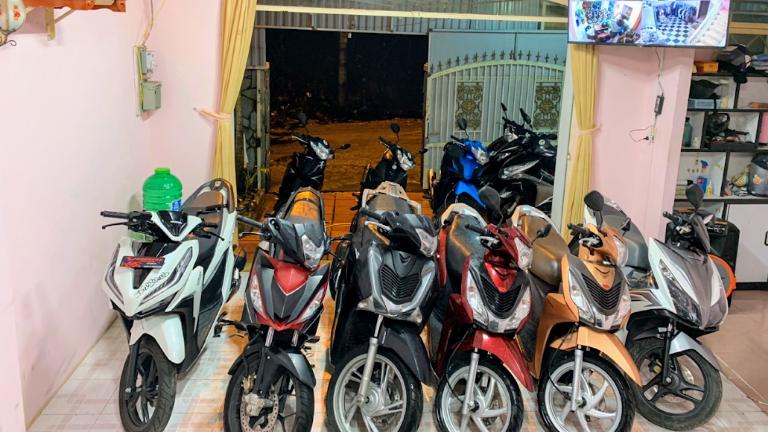 Địa chỉ cho thuê xe máy Đà Lạt được nhiều du khách tin tưởng lựa chọn