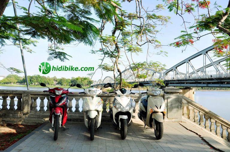 Thuê xe máy hidibike