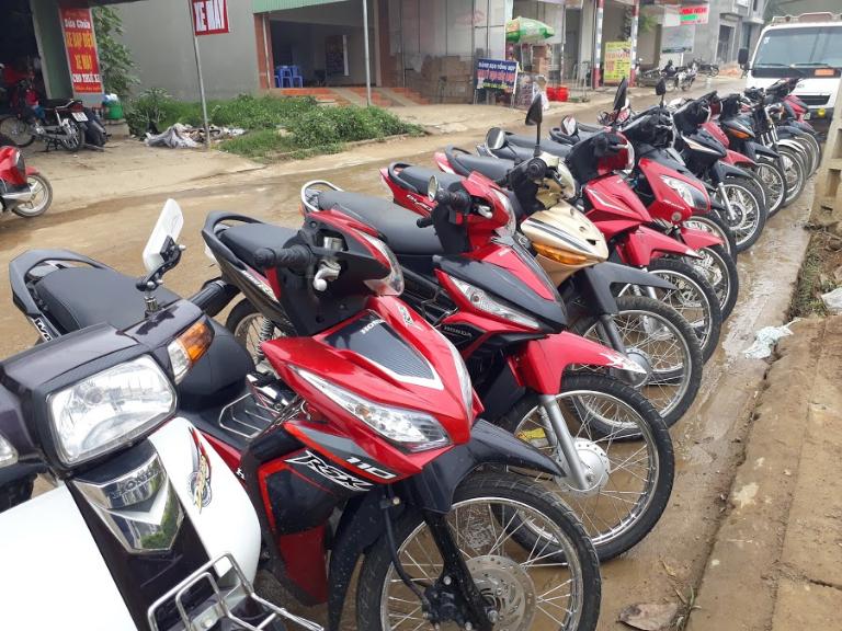 Có rất nhiều đia chì cho thuê xe máy tại Mộc Châu Sơn La
