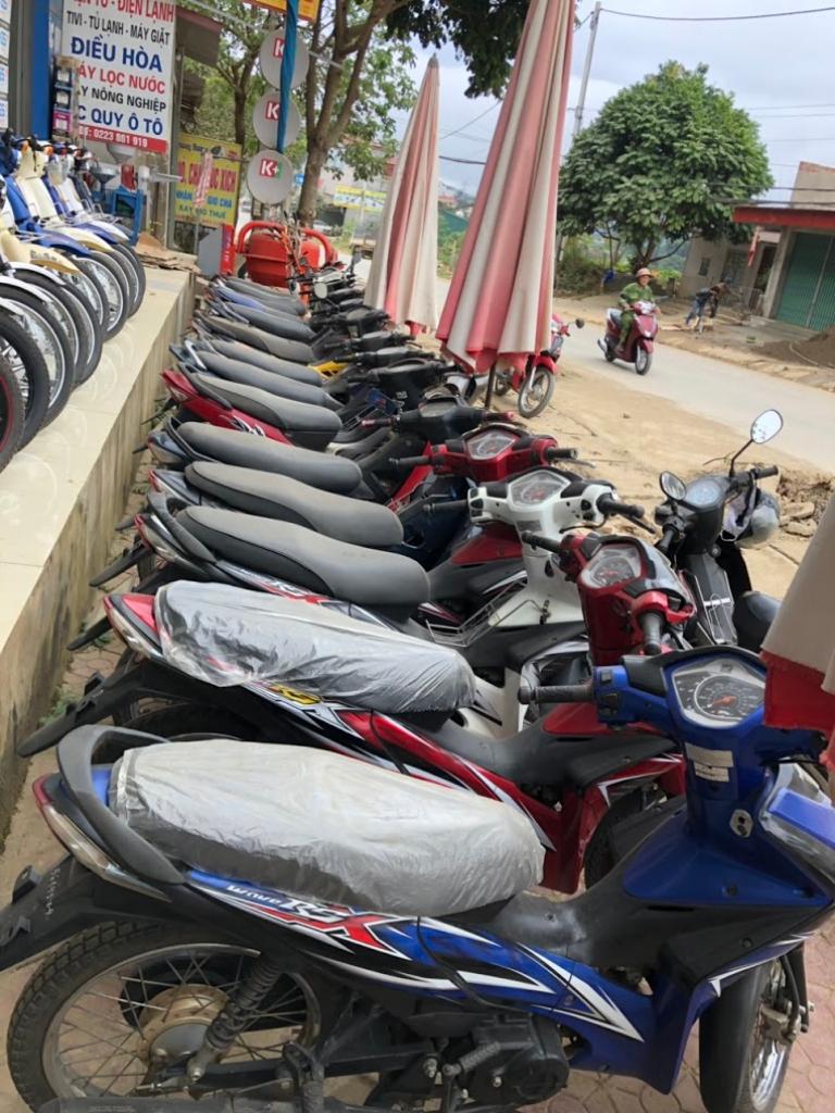 Lam Sơn hotel có đội xe rất chất lượng tốt so với các địa chỉ cho thuê xe máy Sơn La khác