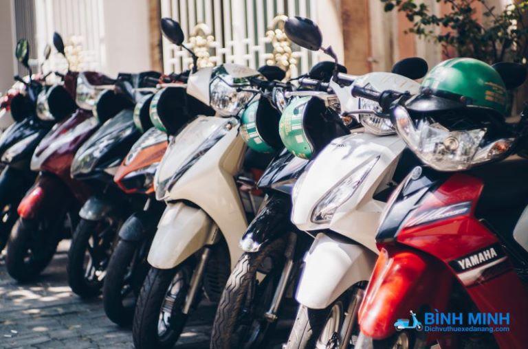 Thuê xe máy Đà Nẵng - Bình Minh