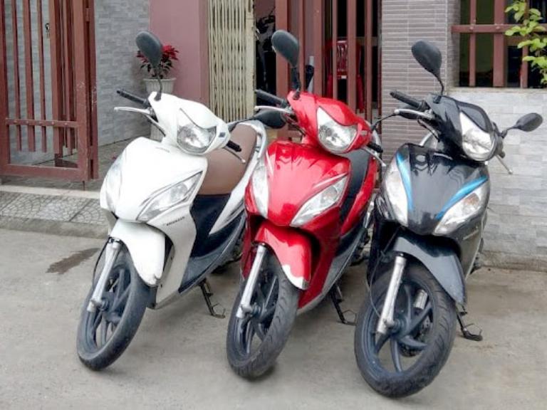 Địa điểm cho thuê xe máy Mũi Né uy tín
