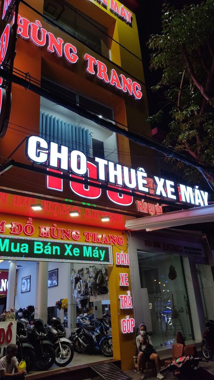 Địa thế bắt mắt của cửa hàng Hùng Trang