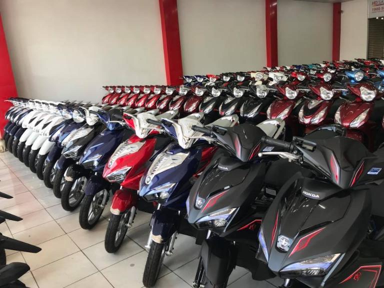 Hùng Vương là cơ sở cho thuê xe máy Tây Ninh có quy mô lớn