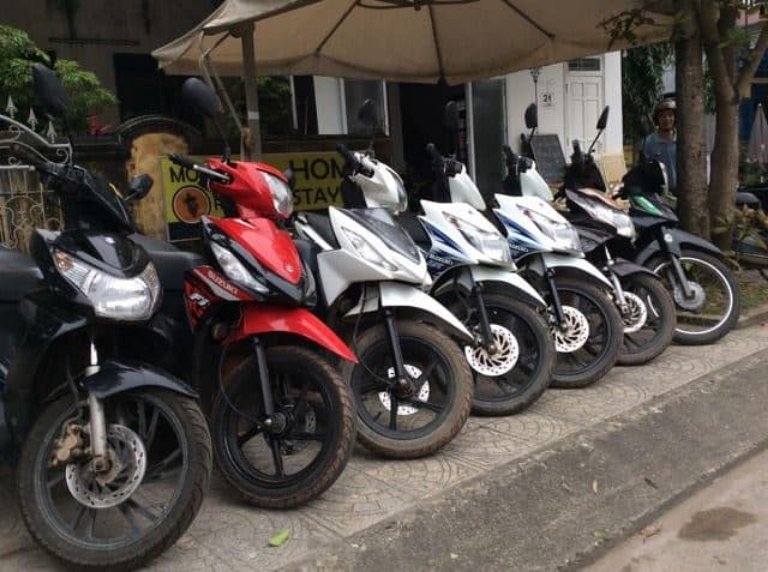 Địa chỉ cho thuê xe máy Vĩnh Long tại huyện Long Hồ