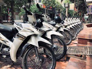 thuê xe máy Hồ Tây Hà Nội MOTOGO