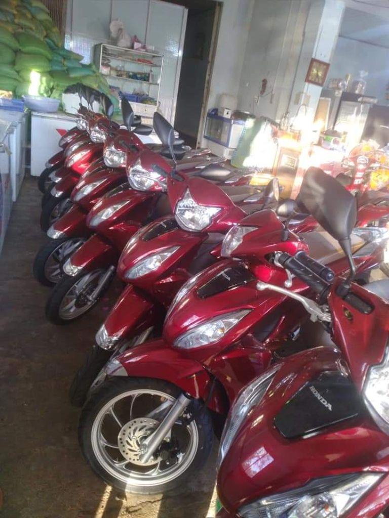 dịch vụ cho thuê xe máy ở Côn Đảo - Mộng Trinh