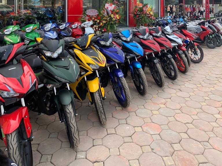 Địa chỉ thuê xe máy Bắc Ninh uy tín