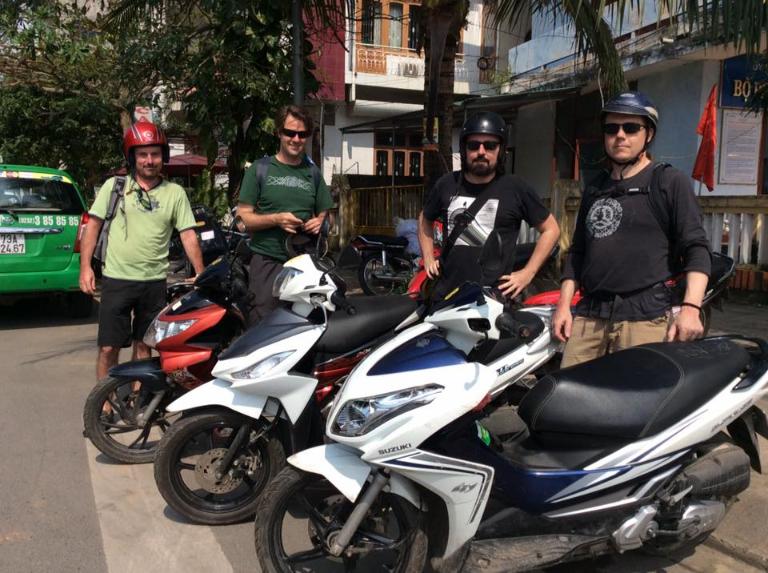 Hoài Phú - địa chỉ cho thuê xe máy Bến Tre chất lượng