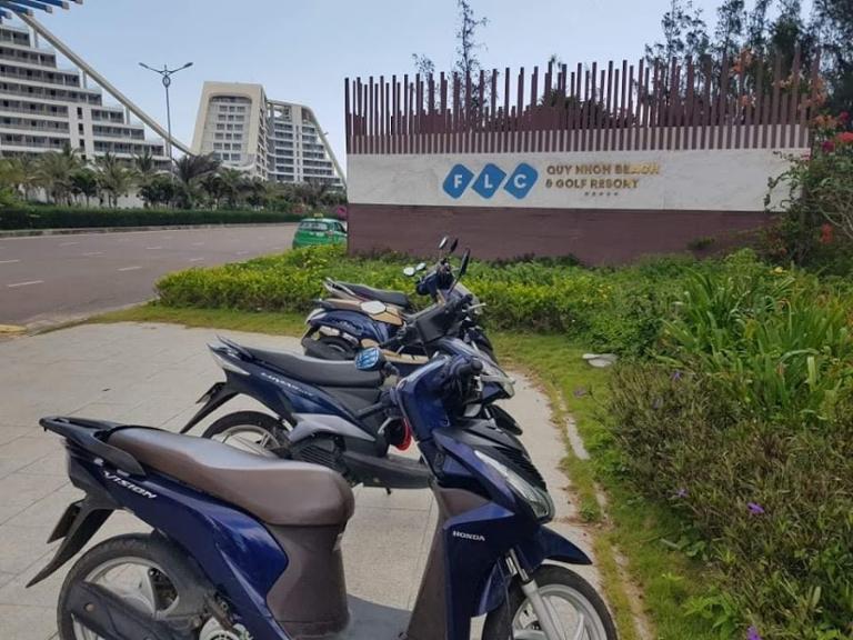 Địa chỉ thuê xe máy FLC Quy Nhơn