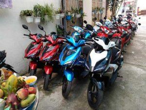 địa điểm thuê xe máy Vĩnh Phúc