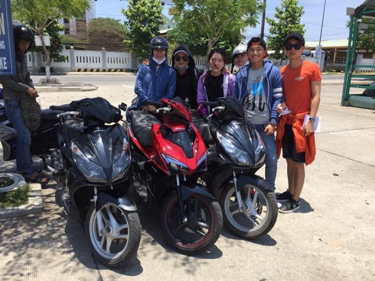Cửa hàng cho thuê xe máy thành phố Hà Tĩnh