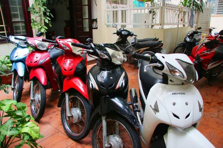 Khách sạn cho thuê xe máy Kỳ Anh Hà Tĩnh