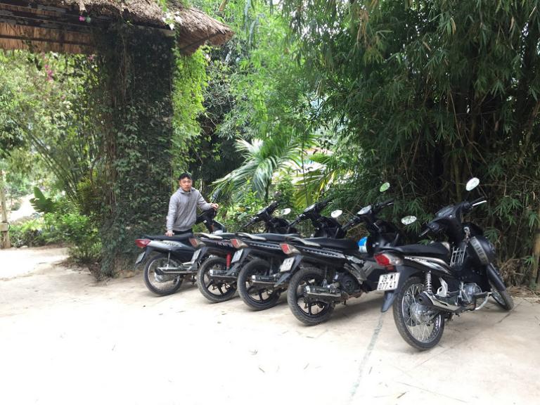 Lâm Hạ cho thuê xe máy tại Mai Châu