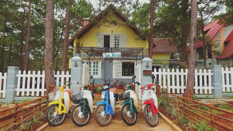 La Maison cho thuê xe máy Măng Đen Kon Tum
