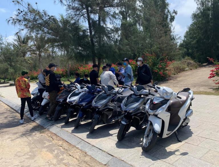 Villa cho thuê xe máy chất lượng