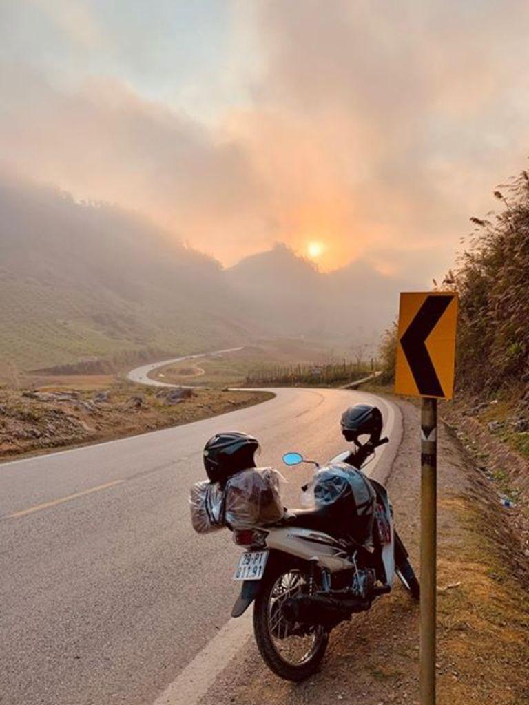 Gía thuê xe máy Mộc Châu