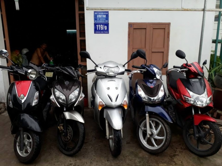 Sơn Nam - cho thuê xe máy Nam Định giá tốt