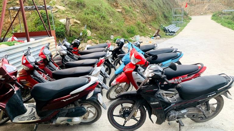 Nguyễn Chiến cho thuê xe máy Tam Đảo