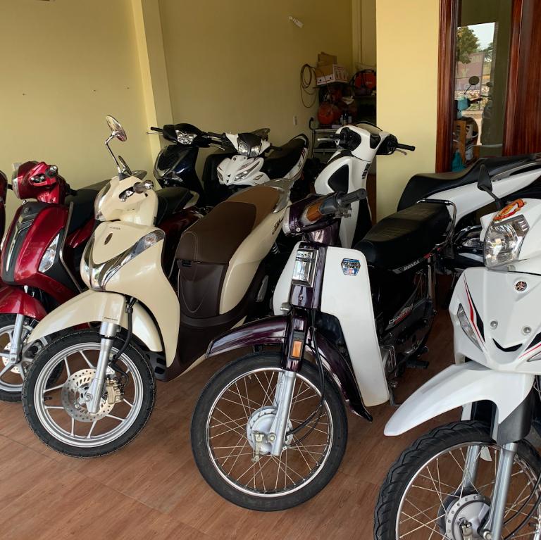 Vượng Phát cho thuê xe máy Thái Bình uy tín