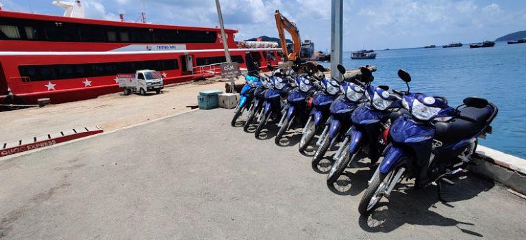 thuê xe máy Côn Đảo uy tín