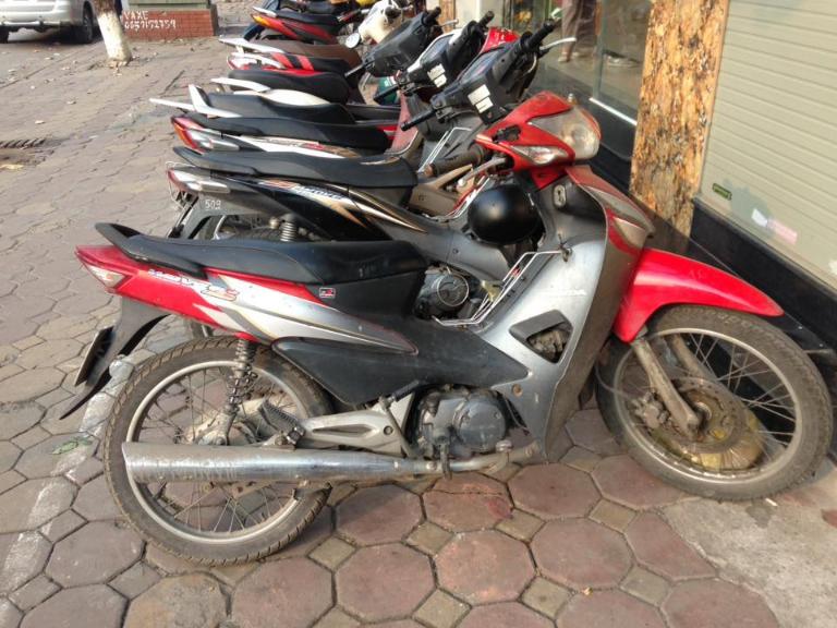 Cửa hàng Mr. Goodbike cho thuê xe máy